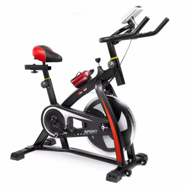 XtremepowerUS Stationary Indoor Cycling Exercise Bike Cycling $295.18