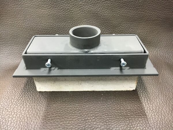 """Forge Ribbon Burner 3"""" x 10"""" Top attachment with weldable burner holder kit"""