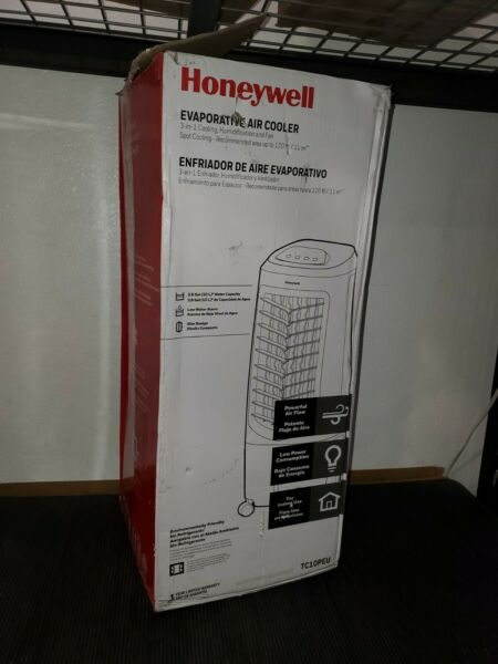 Honeywell Indoor Portable Evaporative Air Cooler MODEL TC10PEU 120 FT2 11m2
