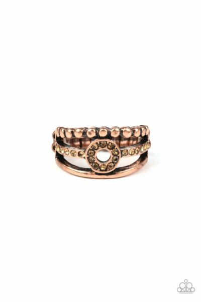 Paparazzi Cost of Living Copper Ring $5.00
