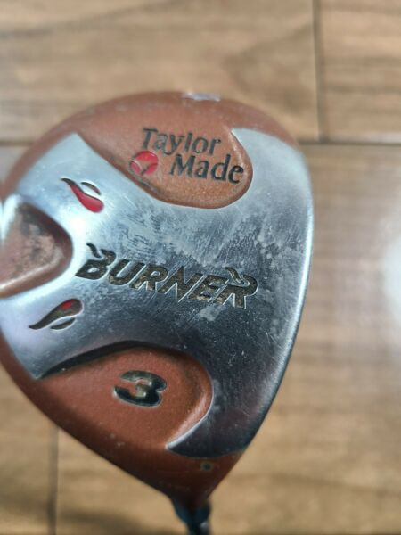 Taylormade Burner 3 Wood Bubble Shaft Right Handed