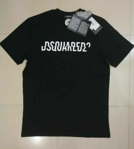 Dsquared2 ICON Mens Tshirts Tops Cotton Short Sleeve Regular Fit $16.99