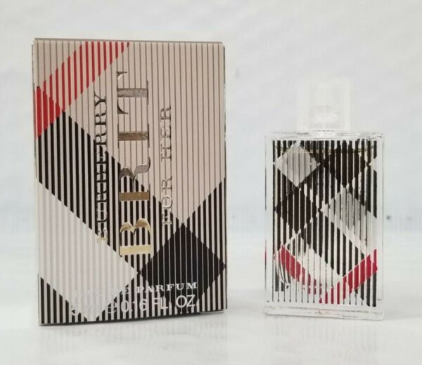 Authentic BURBERRY BRIT Perfume BY BURBERRY For Women EDP 5 ML MINI New In Box $9.99