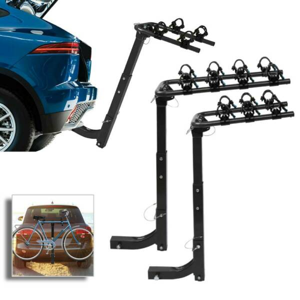 New 2 3 4 Bike Carrier Rack Hitch Mount Swing Down Bicycle Rack W Receiver $66.97