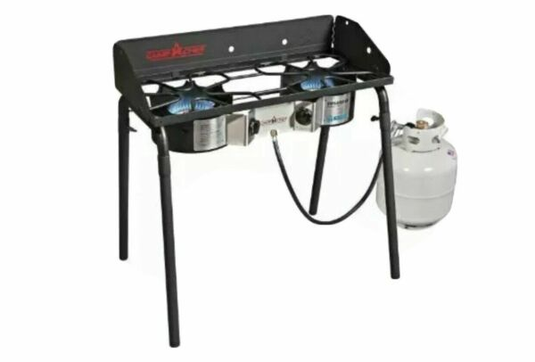 Camp Chef Explorer Deluxe Face Plate 2 Burner Stove Outdoor Propane Grate NEW