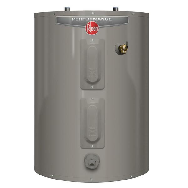 Rheem Electric Tank Water Heater 30 Gal. Short Automatic Thermostat Single Phase $565.35
