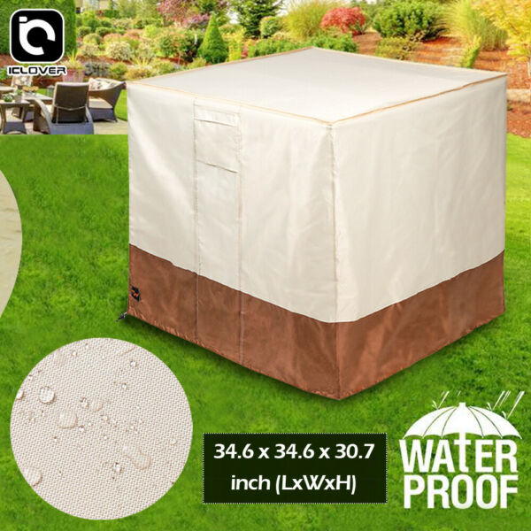 Waterproof Air Conditioner Cover AC Units Protector Central Outdoor Full Cover $19.99