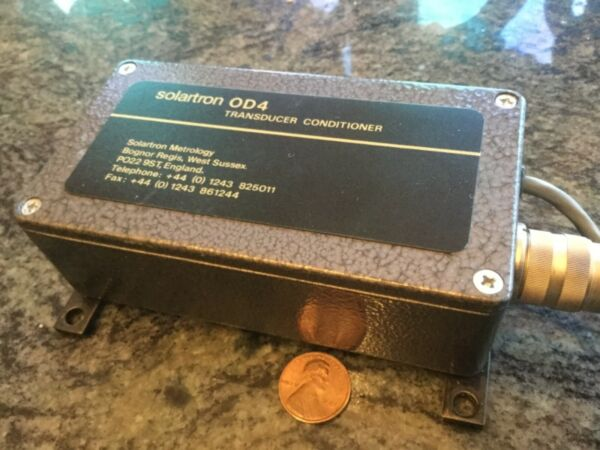 Solartron Metrology OD4 Conditioning Module used machine shop automation line $95.60