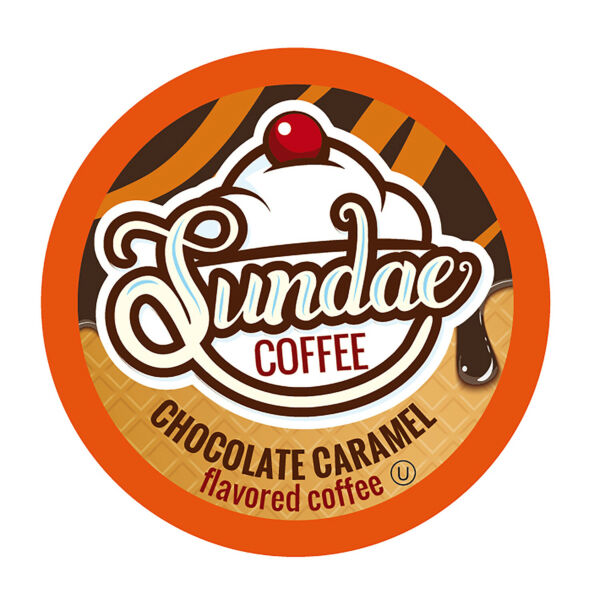 Sundae Ice Cream Flavored Coffee Podsfor 2.0 KeurigChocolate Caramel 48 Count