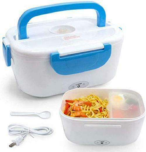 VECH Electric Heating Lunch Box Food Heater Portable Lunch Containers Warming Be $21.42