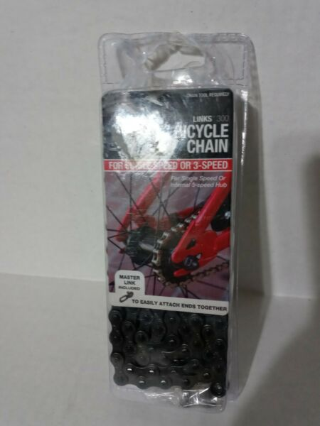 BELL 300Links Bicycle Chain it fit#x27;s Single or 3 Speed 1 2quot; X 1 8quot; NEW $4.00