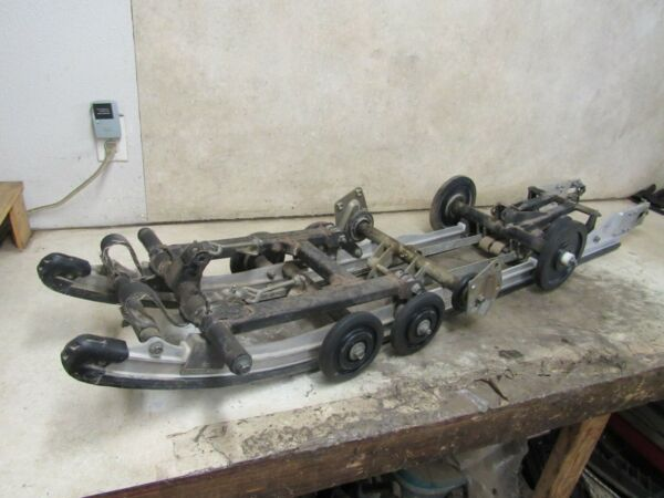 03 YAMAHA RX1 MOUNTAIN REAR SKID 159quot; SLIDE RAILS ARMS SUSPENSION STOCK *1390 $299.99