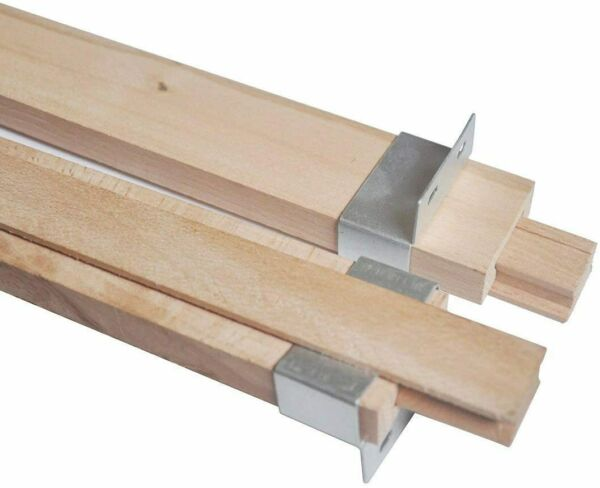 Btibpse Wooden Drawer Slides 16 Inches Classic Wood Center Guide Track with Slid $18.25