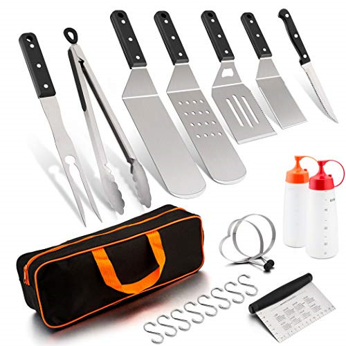 BLACKSTONE GRIDDLE BARBECUE ACCESSORIES TOOL SET 12PCS BBQ GAS HIBACHI COOKING