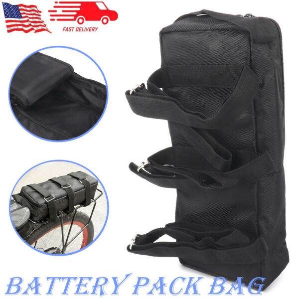 Electric Bicycle Scooter Battery Pack Bag storage E bike Bicycle Accessories NEW $24.39
