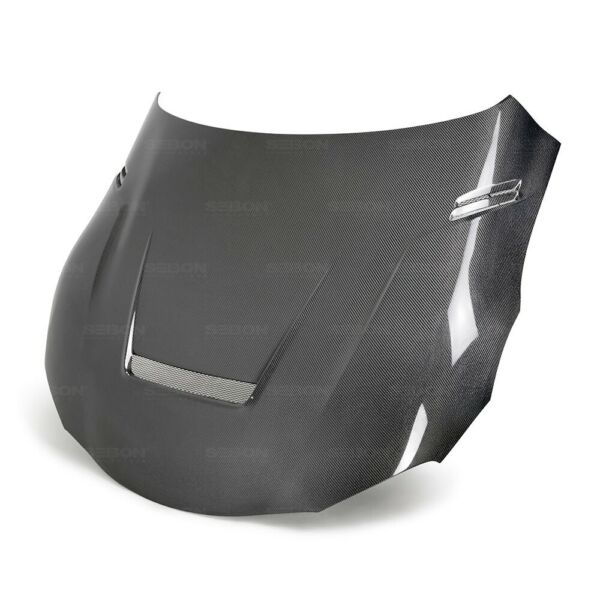 VS STYLE DOUBLE SIDED CARBON HOOD FOR 2020 2021 TOYOTA GR SUPRA HD20TYSUP VS DS $2700.00