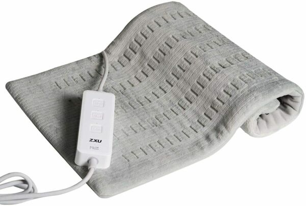 Electric Heating Pad For Shoulder Neck Back Spine Legs Feet Pain Moist Thermal $21.99