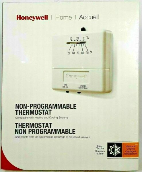 Honeywell Economy Heat Cool Non Programmable Thermostat CT31A 1003 $12.95