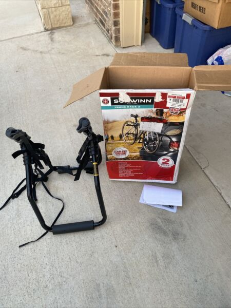 Schwinn 2 Bikes Trunk Rack Pre Owned Used Once. Fast Shipping $50.00