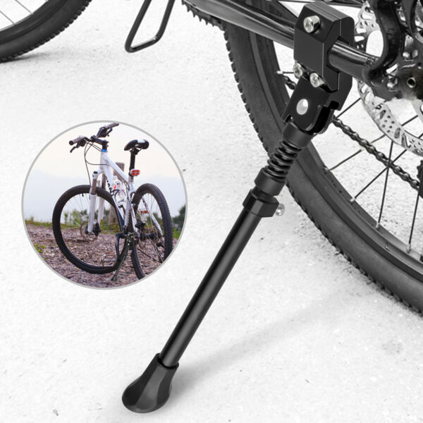 Bike Aluminium Alloy Side Kick Stand for 22quot; 29quot; 700c Tire Mountain Road Bicycle $10.69