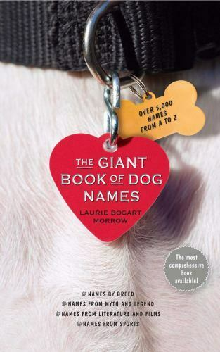 The Giant Book of Dog Names 145166690X by Morrow Laurie Bogart $15.74