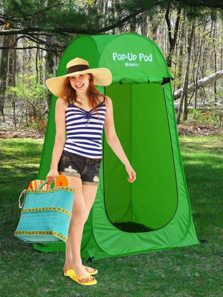 Pop Up Pod Changing Room Privacy Tent Instant Portable Outdoor Shower Tent $37.48