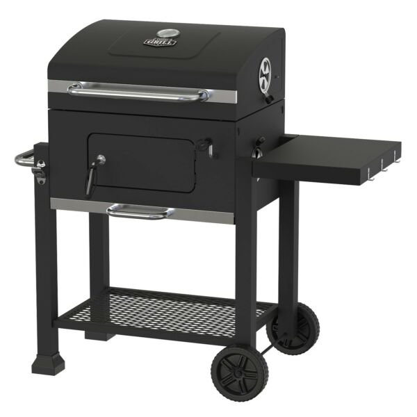 Expert 32 Inch Charcoal Grill BBQ Barbecue Outdoor Pit Patio Smoker Cooker