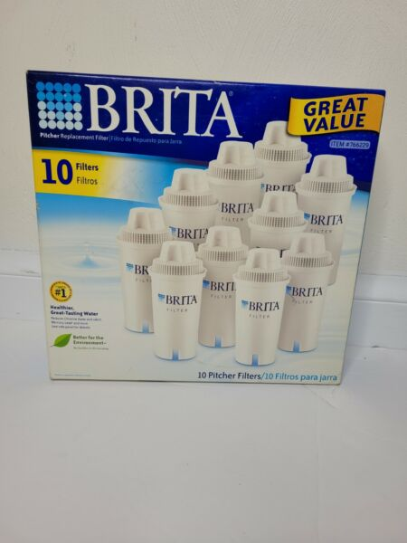 NEW BRITA Pitcher Replacement Filters Set of 10