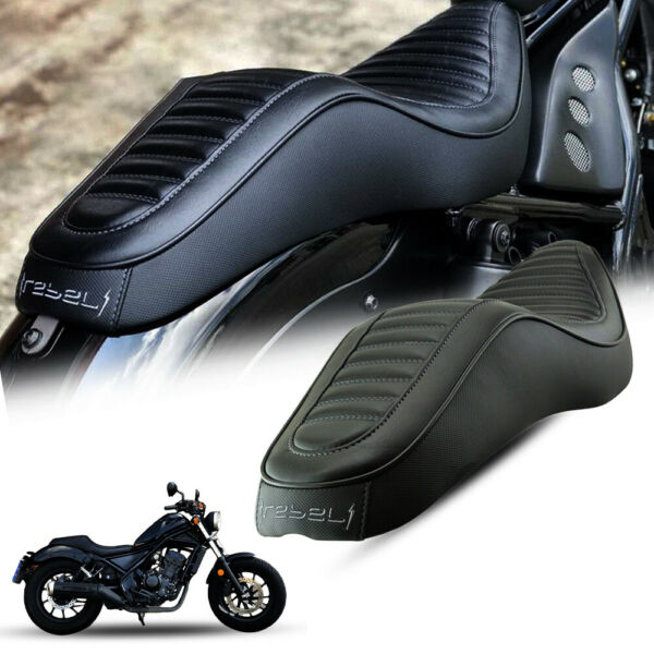 MotoLordd Black Replacement Double Dual Seat For Honda Rebel CMX 300 500 17 2021 $238.00