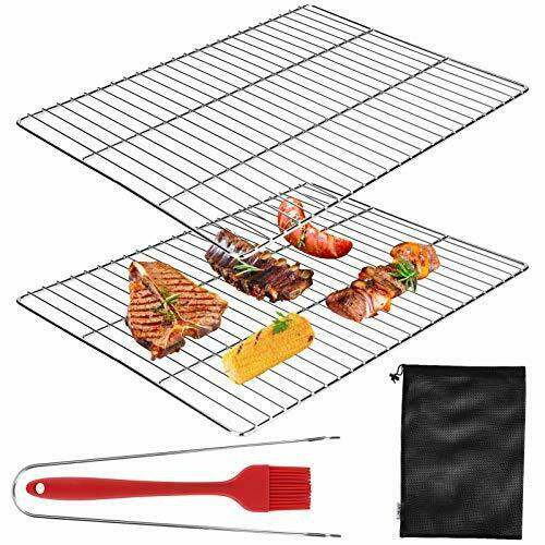 Jhua BBQ Grill Grates 2 Pack Stainless Steel Cooking Grate Barbecue Grill Rack