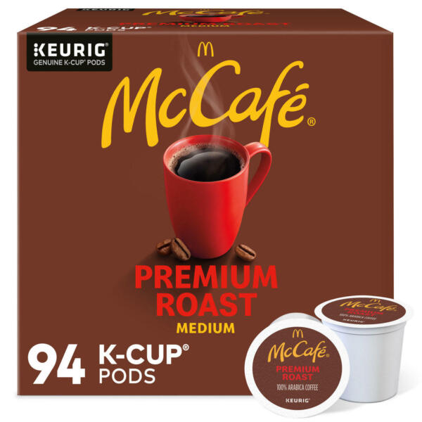 McCafe Premium Roast K Cup Coffee Pods 94 ct. Fast Shipping