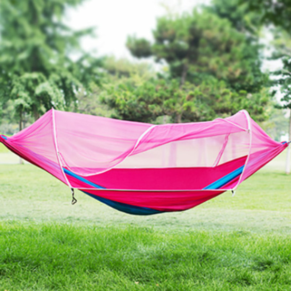 Camping Jungle Hammock Mosquito Net Parachute Tent Single Double Camp Outdoor $39.79