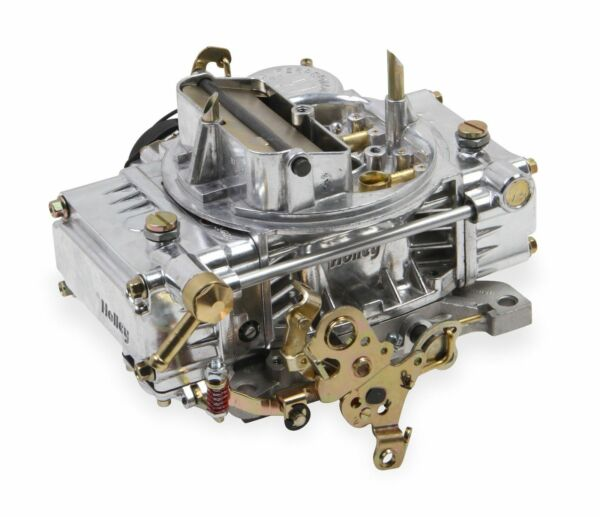Holley 0 80457SA 600CFM 4bbl Factory Refurbished ALUMINUM Carb Electric Choke $39.99