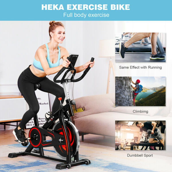 Hot 2 In 1 Stationary Exercise Bicycle Indoor Bike Cardio Health Cycling Fitness $229.99