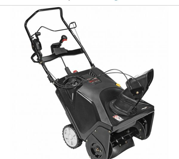 Craftsman Snow Thrower 208cc Single Stage 208cc W Electric Start New