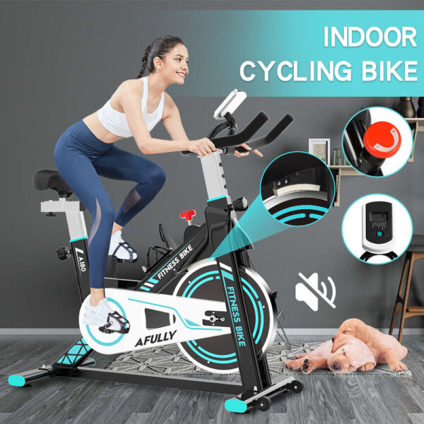 Pooboo Indoor Exercise Bike Stationary Cycling Bicycle Cardio Fitness Workout $187.99