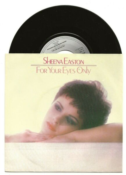 SHEENA EASTON FOR YOUR EYES ONLY RARE SINGLE FROM NETHERLANDS PICTURE COVER GBP 4.99