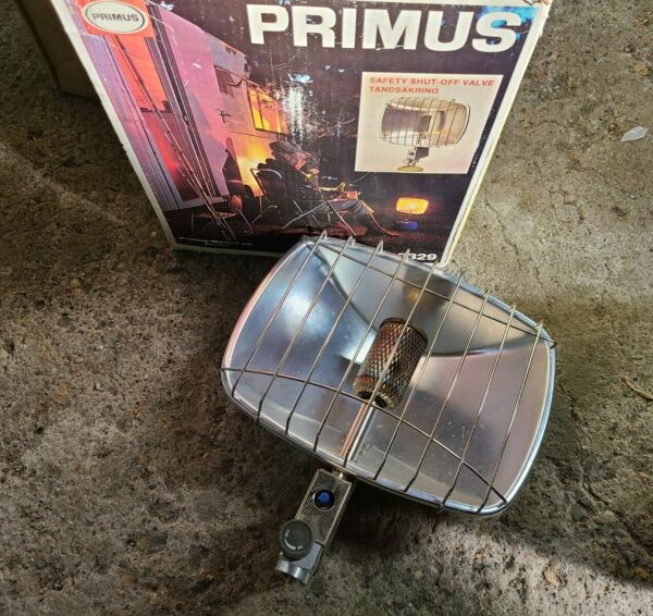 Primus Sievert AB 2329 SWEDEN Collectible Outdoor or Indoor Propane Heater EUC