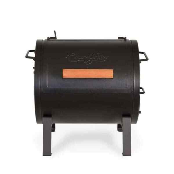 Char Griller 2 in 1 250 sq in Black Portable Charcoal Grill