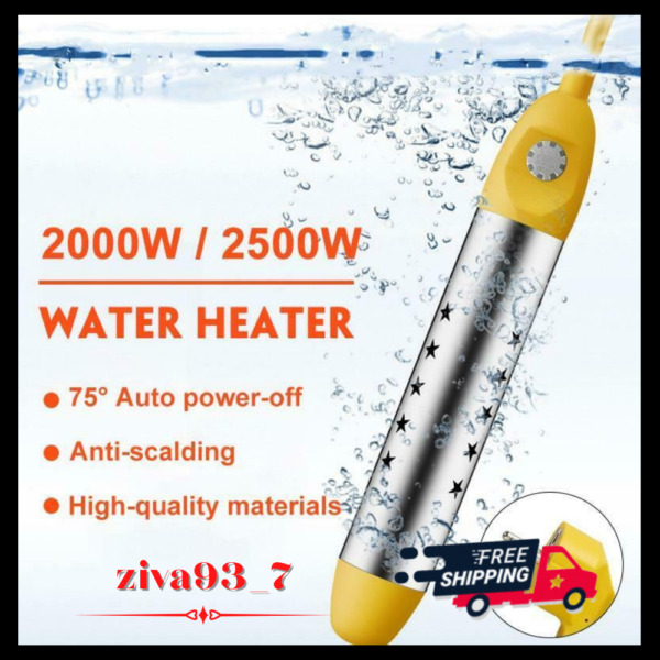 Water Heater Floating Boiler Heating Portable Immersion Suspension Bath Electric $26.99
