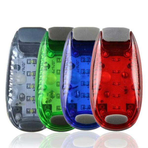 LED Bicycle Safety Light Reflective Clip Running Lamp MTB Light Bike Accessories $2.81