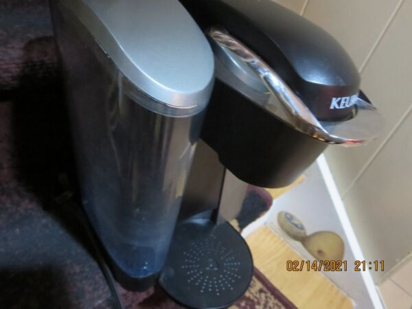 KEURIG PLATINUM B70 POD COFFEE BREWER PROGRAMMABLE W BOOKLET PICK UP #RLP19A
