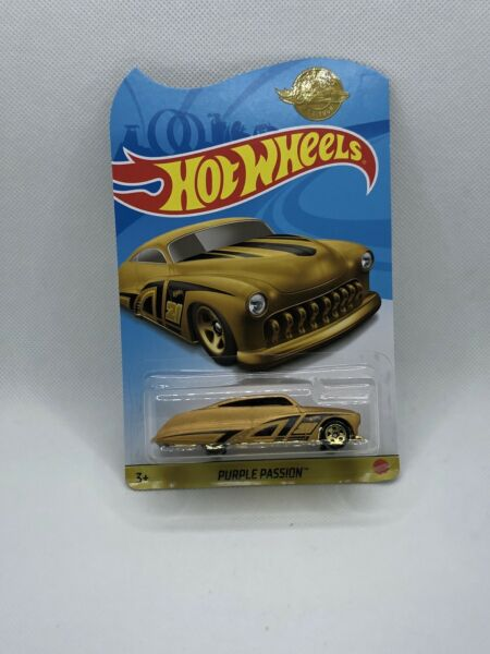 Hot Wheels 2021 GOLD EDITION SERIES PURPLE PASSION RARE $9.99