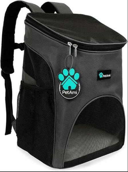 PetAmi Premium Pet Carrier Backpack for Small Cats and Dogs Ventilated Design $28.49