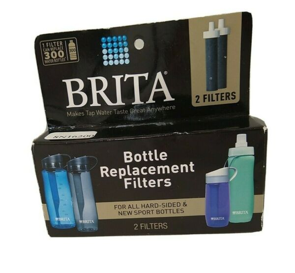 Brita Bottle Replacement filters 1 pack of 2 New