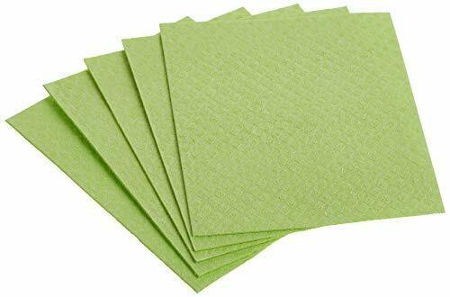If You Care Sponge Cloths – 5 Count – 100% Natural Cleaning Rags for Kitchen ... $11.16
