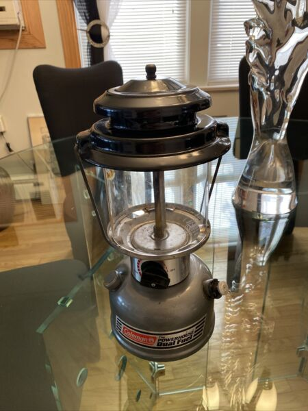 1992 Coleman Powerhouse Dual Fuel Lantern Model 295