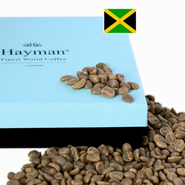 100% Jamaica Blue Mountain coffee Unroasted coffee beans 7oz 200g box