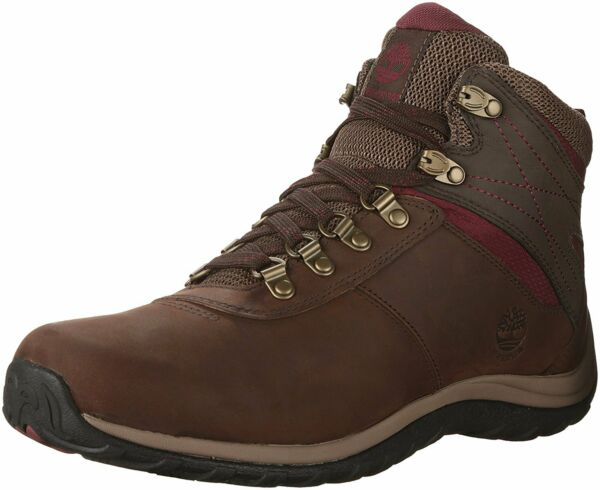 Timberland Women#x27;s Shoes Norwood Leather Closed Toe Ankle Dark Brown Size 11.0 $55.17
