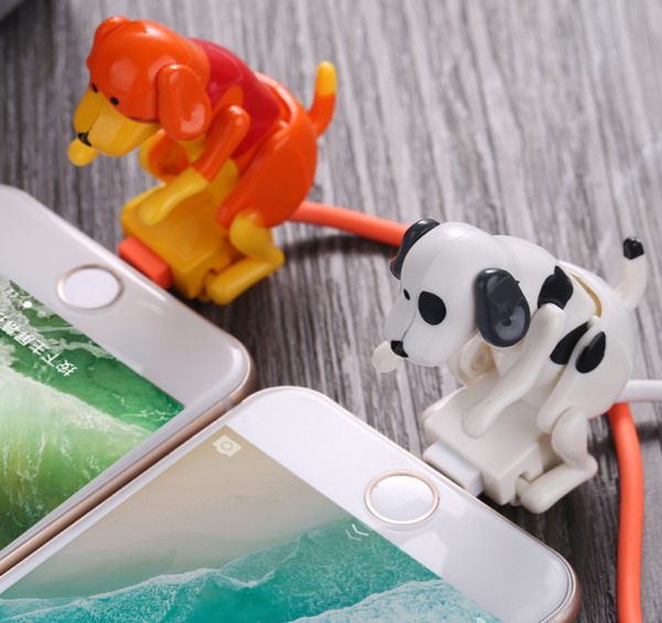 For Type c iPhone Micro USB smartphone Humping Funny Dog Fast charger cable $8.99